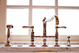 polished nickel kitchen faucets polished nickel kitchen faucet houzz