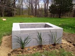 Diy Patio Furniture Cinder Blocks Best 25 Cinder Block Fire Pit Ideas On Pinterest Cinder Block