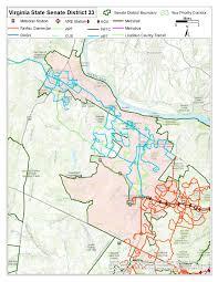 Northern Virginia Map by Legislative Transit Maps U2013 Northern Virginia Transportation Commission