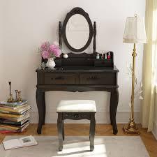 vanity make up table tribesigns vanity makeup table set bedroom dressing table makeup