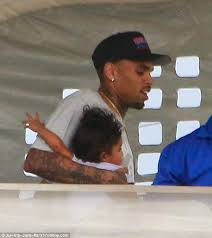 chris brown attends tyga s s birthday with