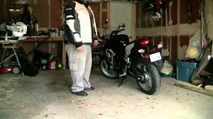how to turn your motorcycle around using the kickstand using