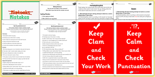 reading resource pack proof reading resources pack