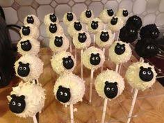 i love these cute shaun the sheep cake pops great if your little