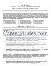 Production Manager Resume Template Sample Production Resume Production Associate Manager Resume