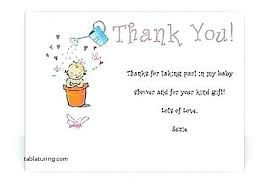 gift registry cards baby shower gift registry wording thank you cards inspirational