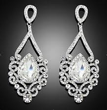 Bridal Chandelier Earrings Zspmed Of Bridal Chandelier Earrings Perfect On Home Decoration