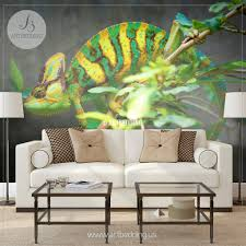 wall murals wall tapestries canvas wall art wall decor tagged chameleon wall mural chameleon self adhesive peel stick photo mural beautiful chameleon wallpaper