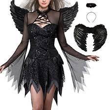 Fallen Angel Halloween Costumes Amazon Evil Fallen Angel Costume Halloween Costumes