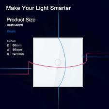 z wave light remote control neo coolcam z wave wall light switch 1ch gang z wave wireless smart