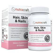 amazon com 1 hair skin u0026 nails supplement with 5000mcg of