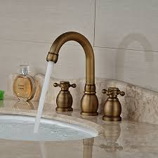 Wholesale And Retail Brand New Antique Brass Bathroom Sink Faucet Antique Brass Bathroom Fixtures