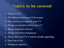 Whats The Difference Between Cv And Resume Hadeel Al Kofide Msc Phcl 476 What Is A Cv The Difference
