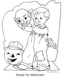 kids halloween coloring pages 002