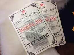 Titanic Second Class Menu by Remembering Titanic And Molly Brown The Patty Beat
