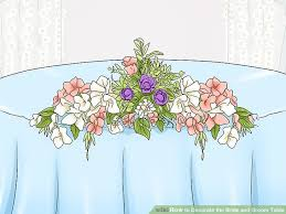 Bride And Groom Table Decoration Ideas How To Decorate The Bride And Groom Table 14 Steps