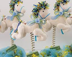 Carousel Horse Centerpiece by Horse Carousel Etsy