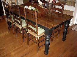 Kitchen Table Legs Kitchen Table Wood Top Black Legs U2022 Kitchen Tables Design