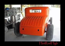 update photos of the the rumbler orange paint job rod 1929