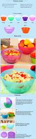 quick shipment skid resistance modern fruit plastic salad bowl
