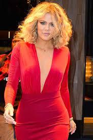 c kardashian curly hairstyles