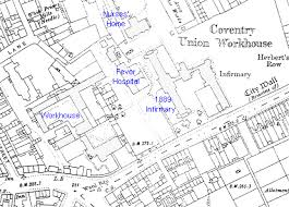 map uk coventry the workhouse in coventry warwickshire
