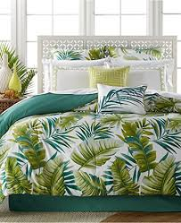 Tropical Comforter Sets King Tropical Palm Fronds Leaves Beach House Queen Comforter Set 7