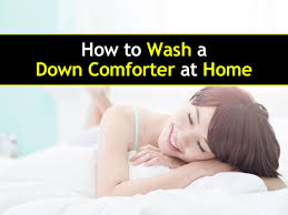 At Home Com by The Ultimate Guide On How To Wash A Down Comforter At Home