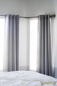 How To Put Curtains On Bay Windows Bay Window Curtain Rod Bay Window Curtain Rod Bay Window