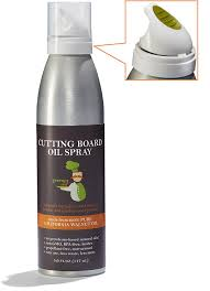 amazon com food based cutting board oil u0026 butcher block oil spray