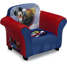 mickey mouse chair covers delta children mickey mouse upholstered chair walmart
