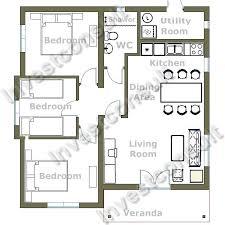 3 bedroom house floor plans ideas 9 compact 3 bedroom house plans bedroom house