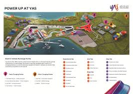 Tesla Charging Stations Map Yas Island Champions Uptake Of Electronic Car Technology With