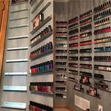 diy wood nail polish rack u2013 free plans nail polish storage