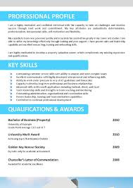 Sample Resume Key Qualifications by Sample Resume For Australian Jobs Resume For Your Job Application