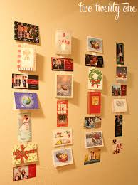 christmas holder simple christmas card holder two twenty one