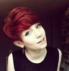 short cut tri color hair 24 really cute short red hairstyles styles weekly