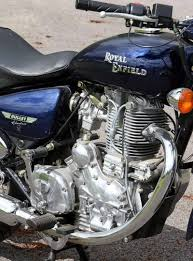 enfield 500 bullet electra efi 2008 on review mcn