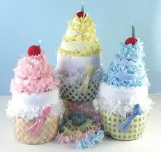 diaper cupcake baby gifts diaper cakes