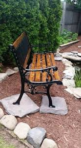 High Back Garden Bench Need To Spruce Up An Old Bench In Our Back Yard I Am So Doing
