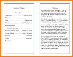sle funeral programs wording obituary template for gallery resume ideas