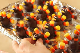 diy chocolate turkeys for thanksgiving oh nuts