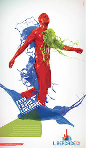 paint man colorful paint man people vector free vector download free