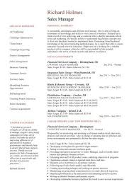 Sample Resume For Fmcg Sales Officer by Sales Manager Cv Example Free Cv Template Sales Management Jobs