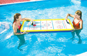 floating table for pool floating swimming pool deck hockey table top hockey hockeygods