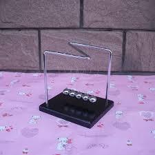 aliexpress com buy creative magnet desktop balance pendulum ball