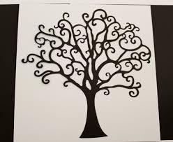 heritage die cut tree from bleavingfootprints on etsy studio