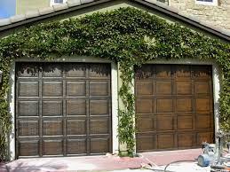 Faux Paint Garage Door - faux garage doors