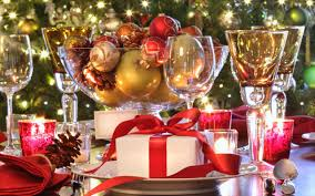 sweet decorating christmas ideas on party table centerpieces with