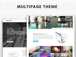 Architect Multipage Html5 Theme By Emmetheme Themeforest